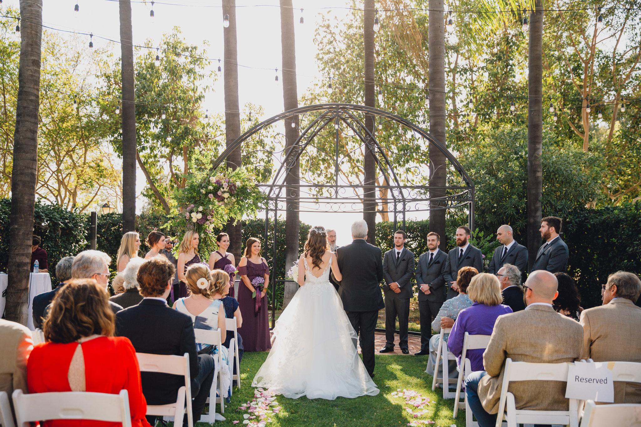 Muckenthaler Mansion Ceremony