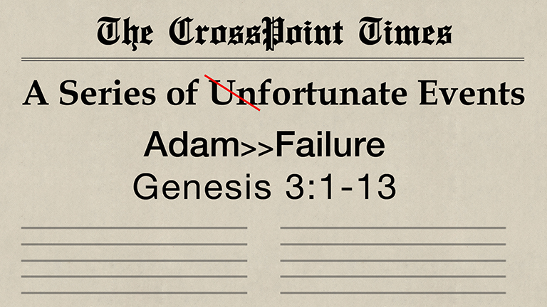Adam >> Failure