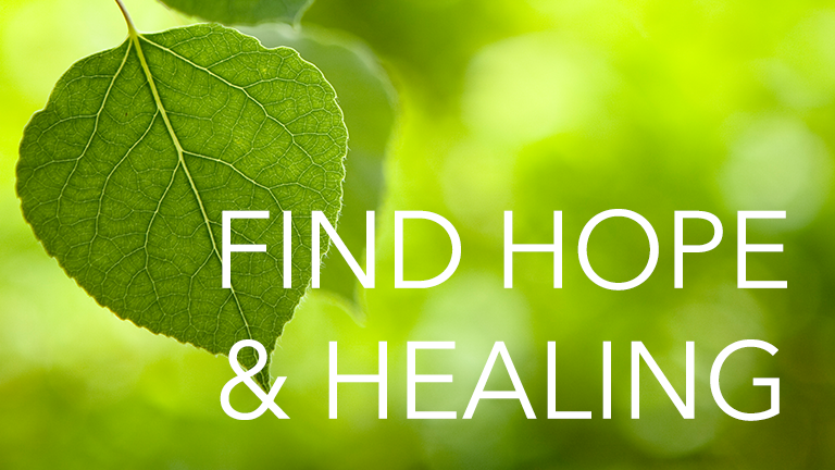 Find Hope and Healing