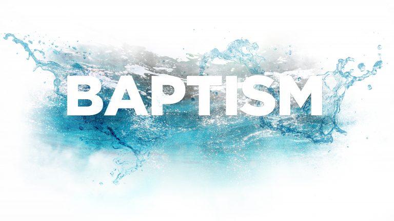 Baptism Workshop – Summer 2021