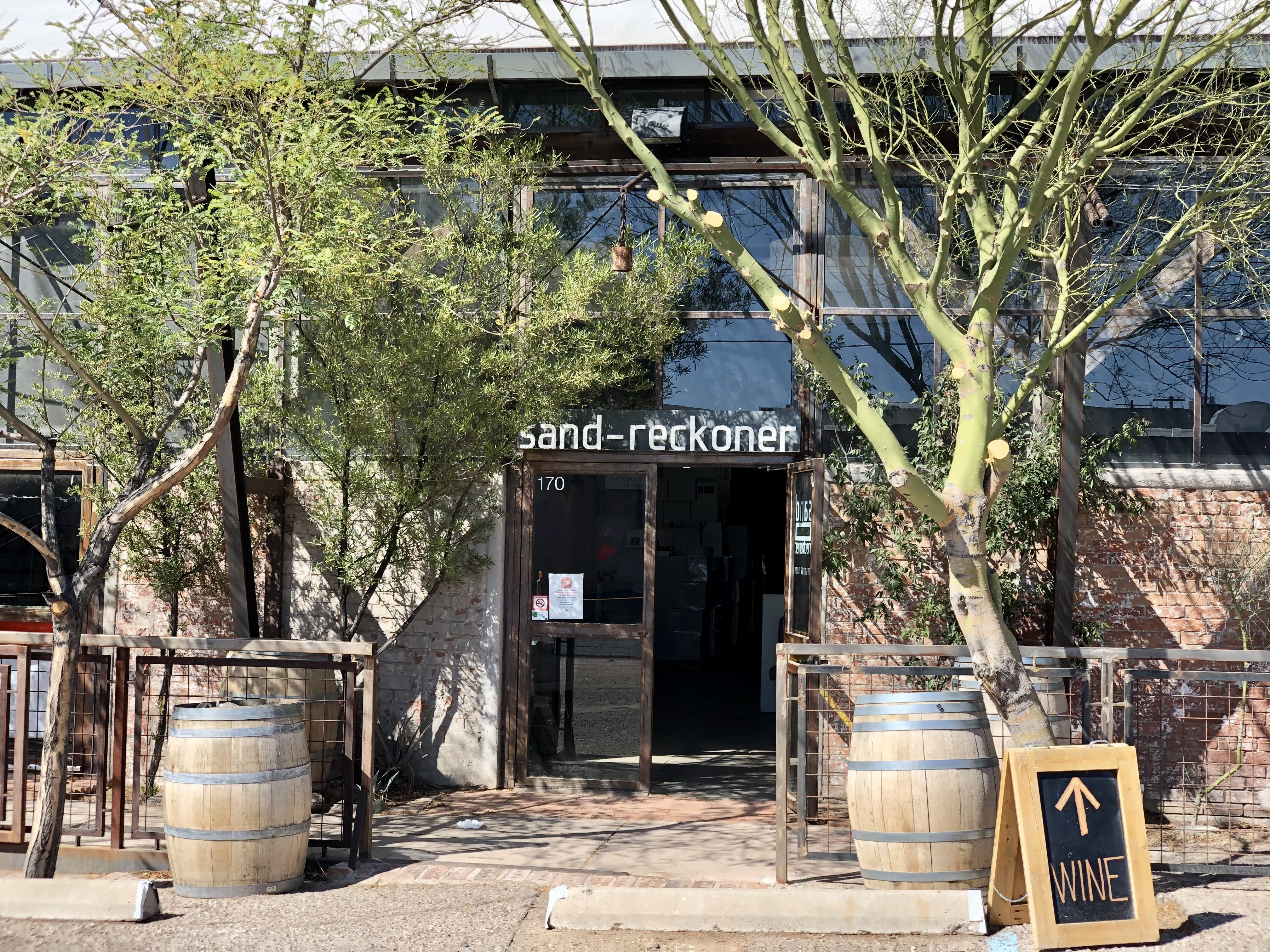 Tucson tasting room Sand-Reckoner