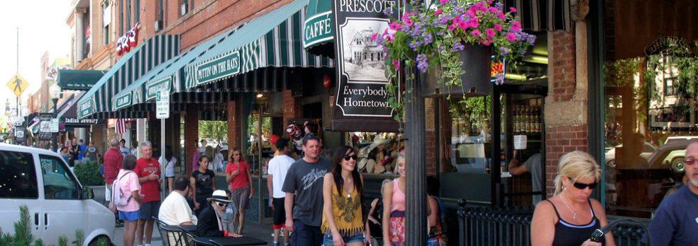 Whiskey Row, Prescott
