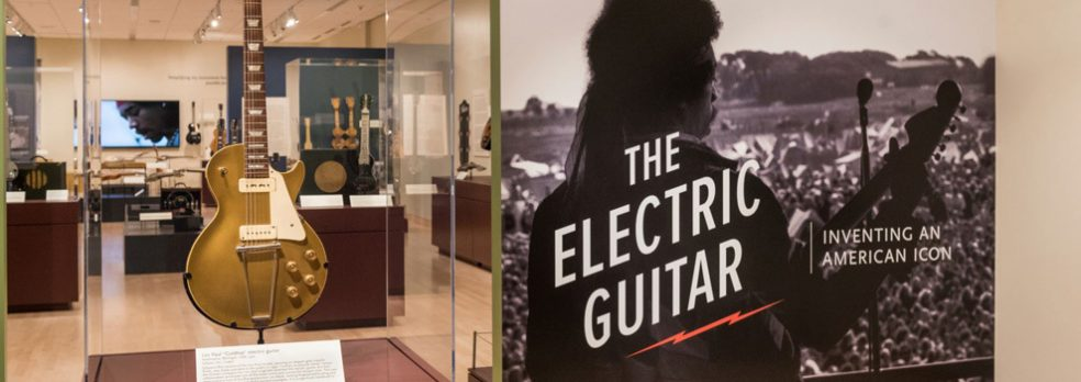 The Electric Guitar exhibit at the Musical Instrument Museum