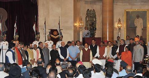 india new ministy
