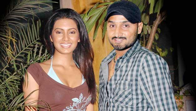 Geeta-Basra-with-Harbhajan-Singh