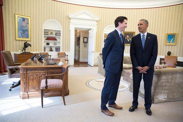 Photo courtesy: White House twitter