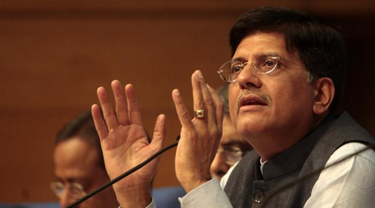 Energy Minister Piyush Goyal