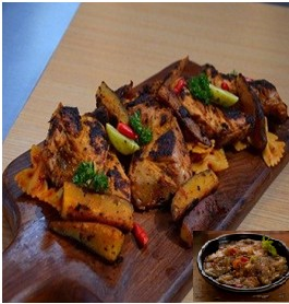 Andhra Tandoori Chicken