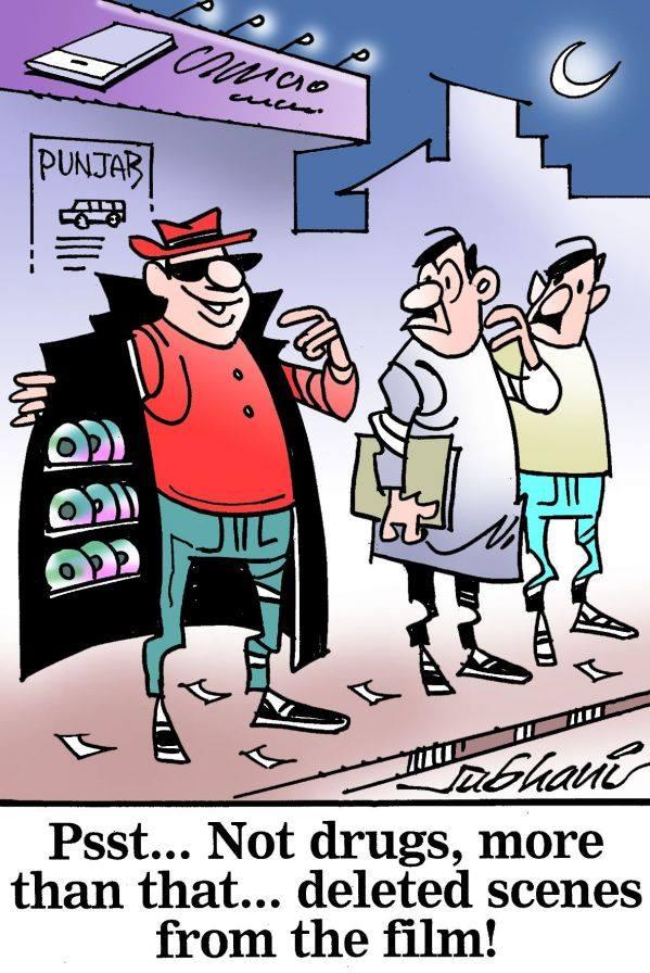 Udta punjab cartoon 1