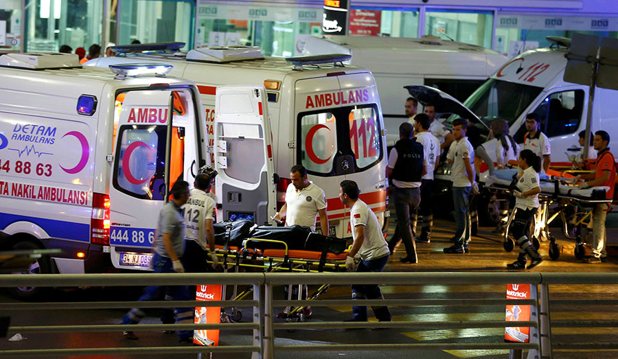 Istanbul airport explosion