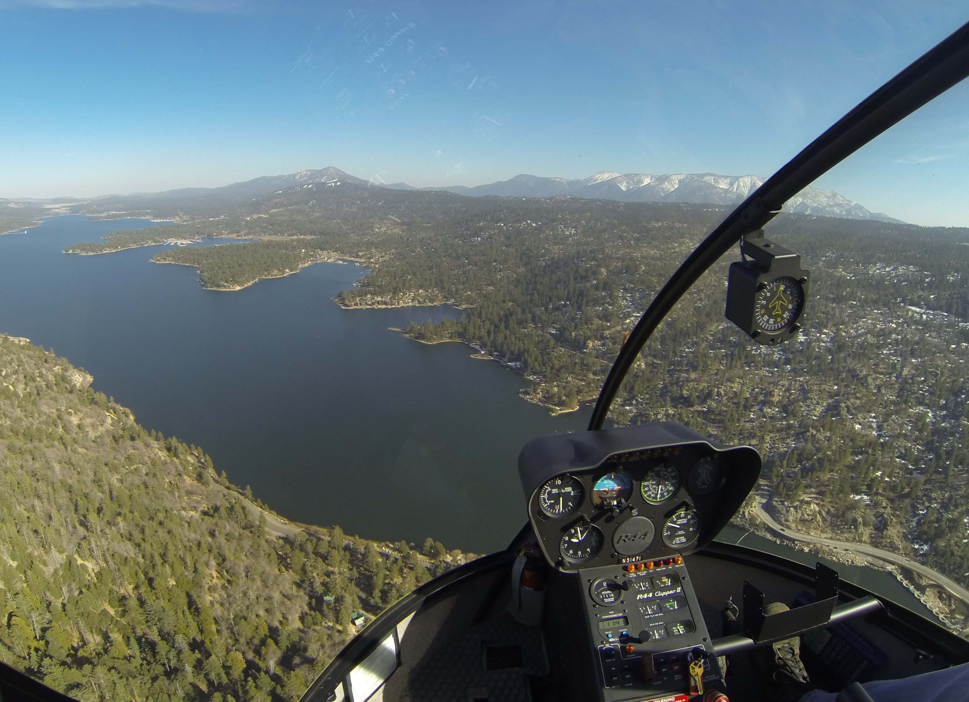 Big Bear helicopter tours and Airplane flights