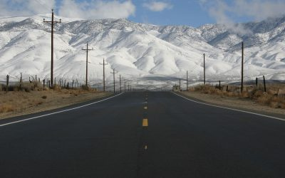Winter Motorcycle Rides: On-road. Off-road.