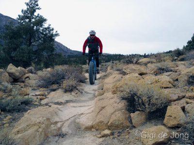 Riding the Wagon Wheel trail