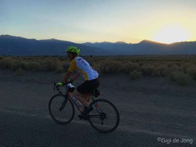 Biking the Laws Poleta - Warm Springs Loop