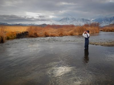 Winter Fishing - Photo: Jim Stimson