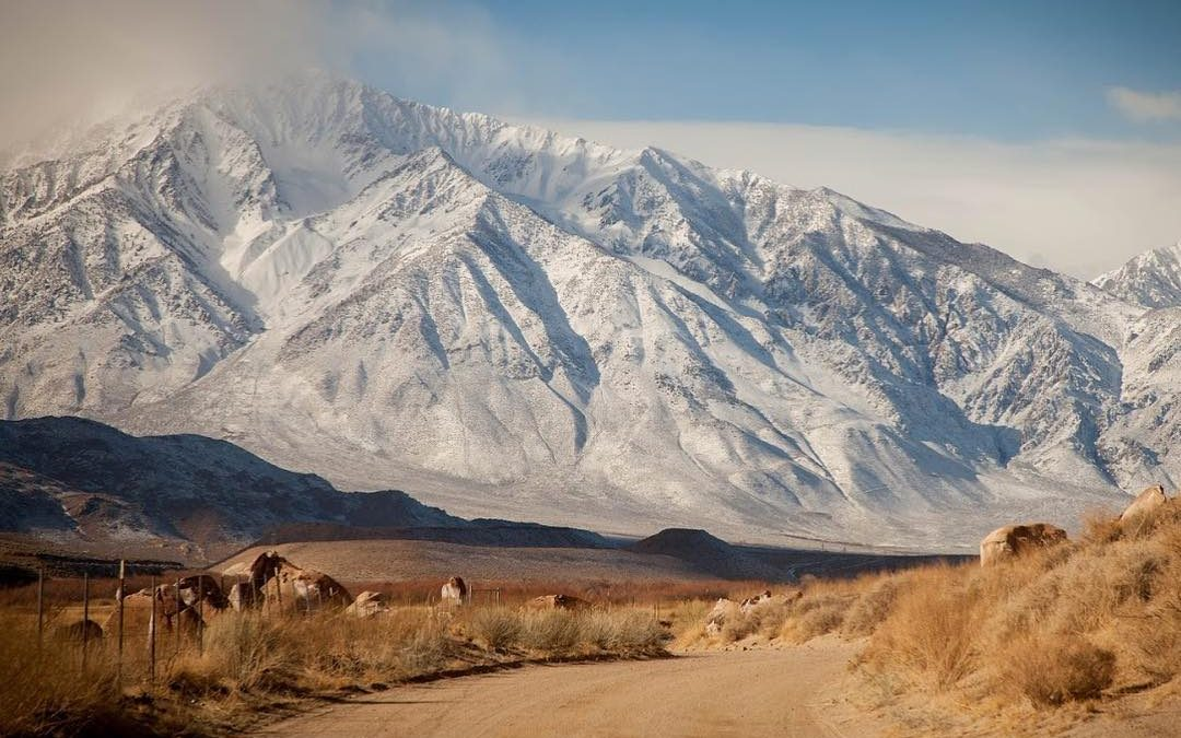 OHV & Auto Touring in Winter in Bishop