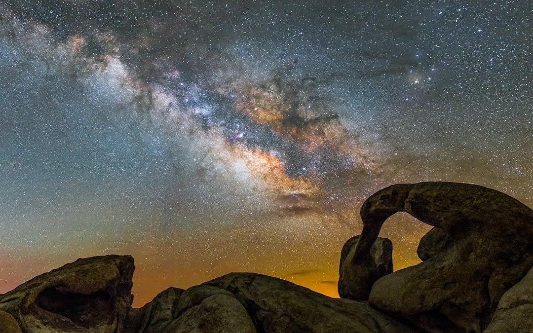 Stargazing in the Eastern Sierra