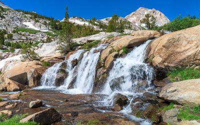 Waterfalls of the Eastern Sierra