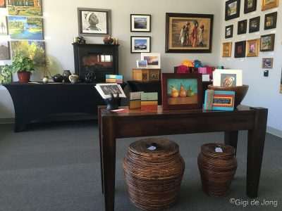 Calvary Chapel's Art and Soul Gallery. Bishop. CA