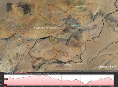 Tungsten cycling map