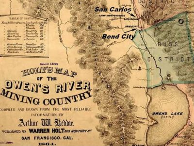 Modified Map of Owens River