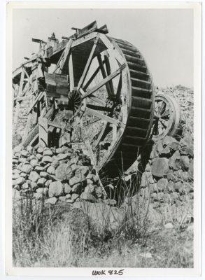 Cometti Mine Water Wheel