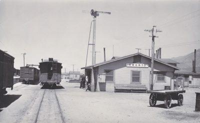 Owenyo Transfer Depot in 1947