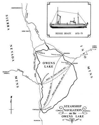 Steamship Navigation Routes