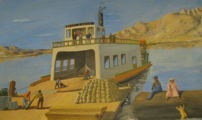 Bessie Brady Steamship Painting