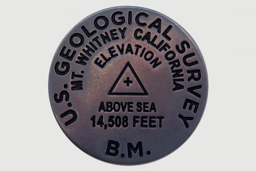 Mt Whitney US Geological Survey Pin