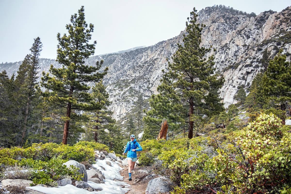 Running Big Pine Lakes