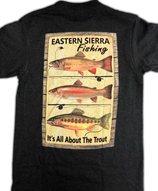 Eastern Sierra Fishing Tshirt