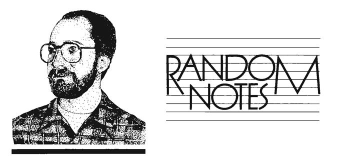 Random Notes – June '89