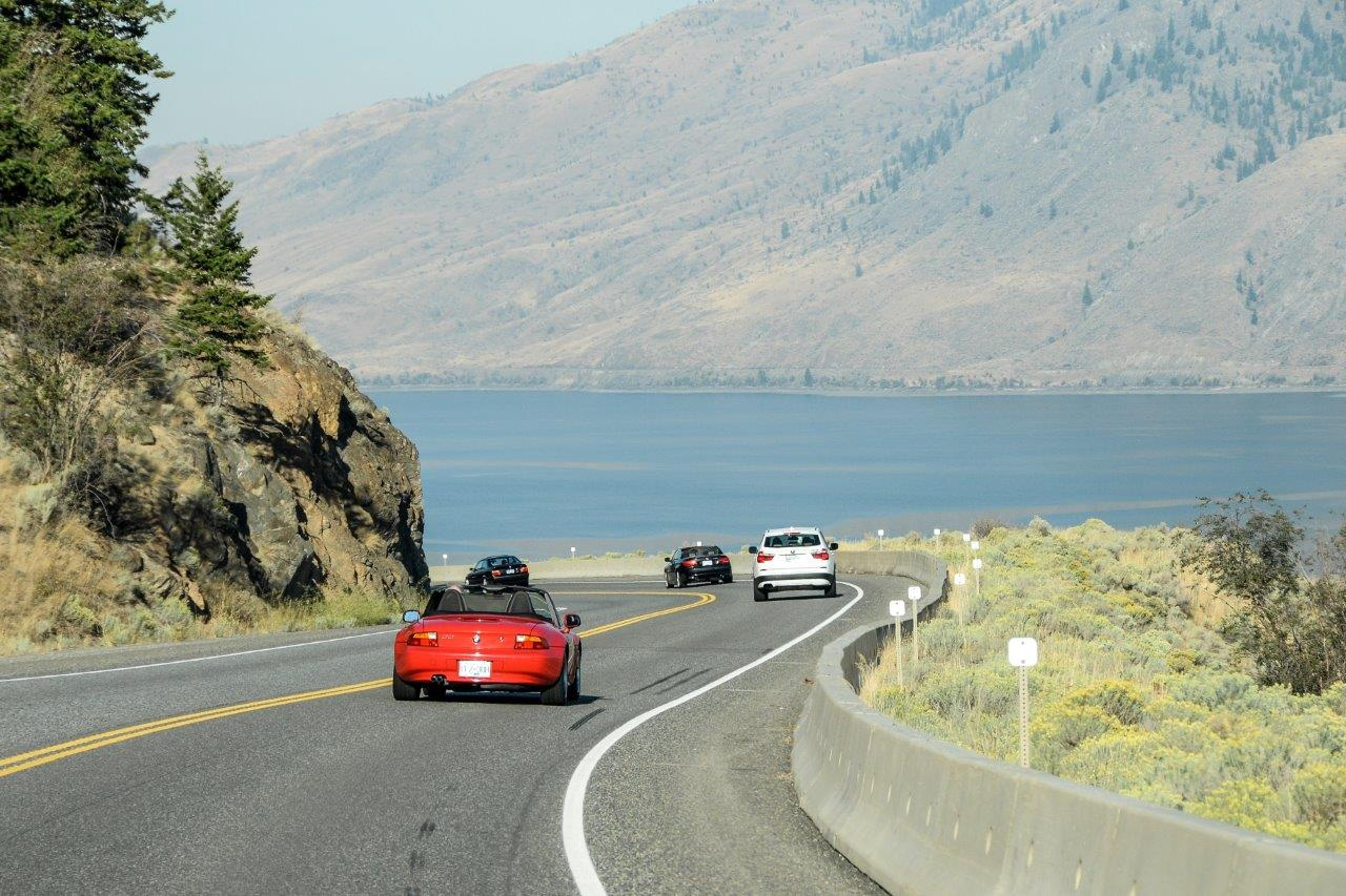 BMW Driving Tour to Duffy Lake, British Columbia