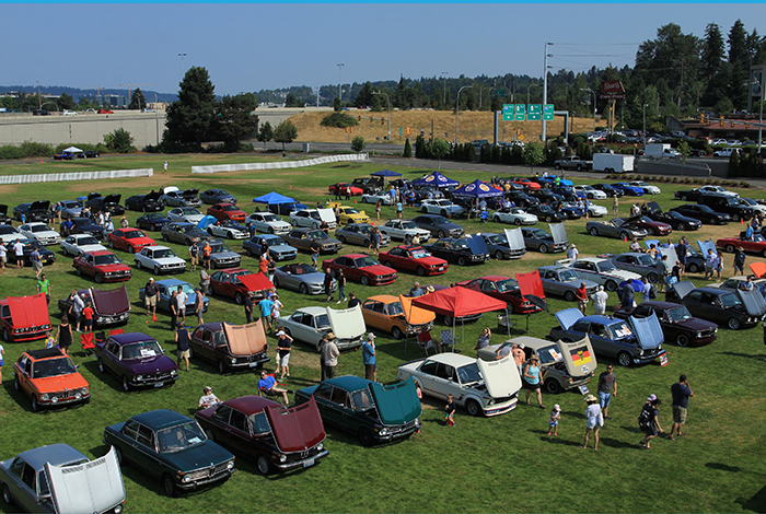 Drone Shot of the 2018 Deutsch Marque Car Show