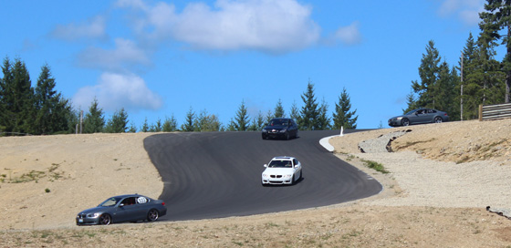 Tour to The Ridge Racetrack via Hood Canal