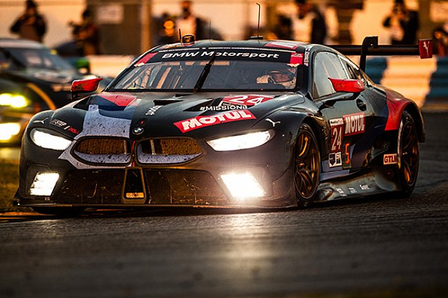 Podium Finish for BMW Team RLL at the Rolex 24 at Daytona