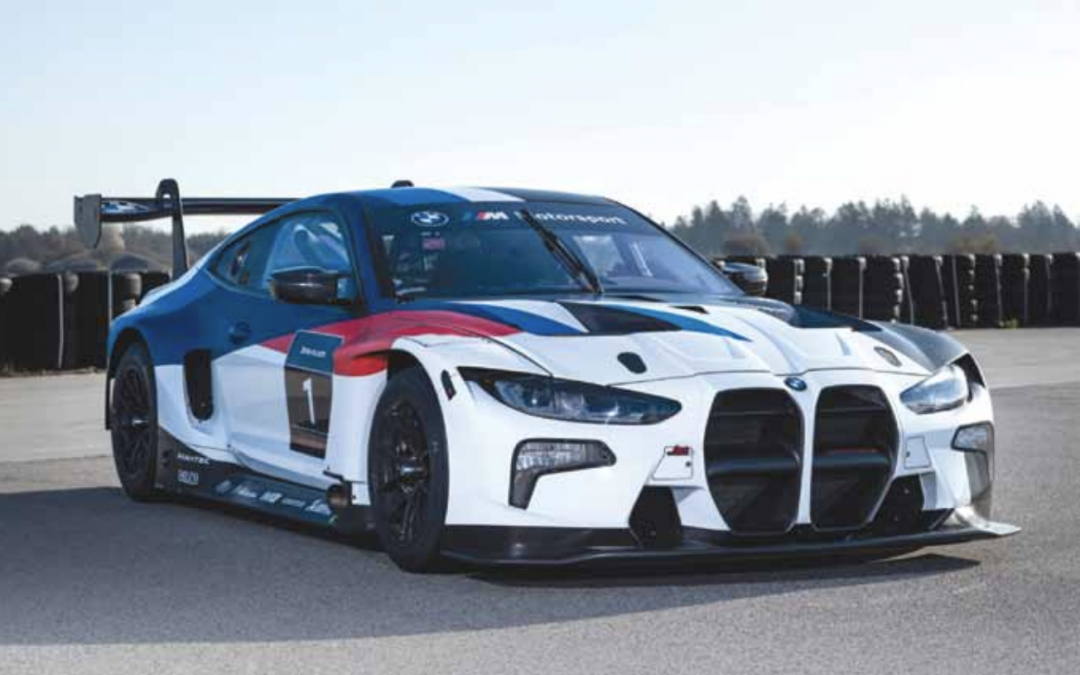 New M4 GT3 Introduced