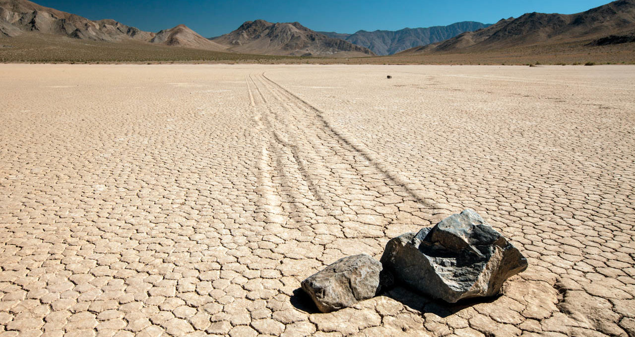 Learn why summer isn't the best time to visit Racetrack Playa, Death Valley