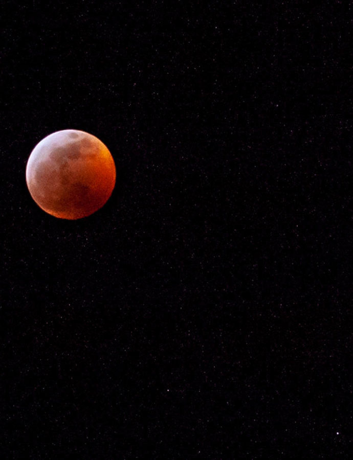 Photographing the Super Blood Wolf Moon 2019