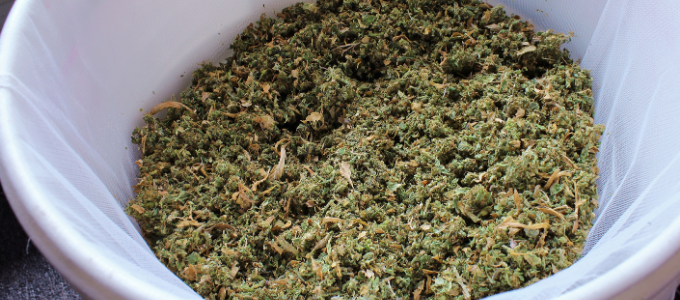 how to strain cannabutter without cheesecloth