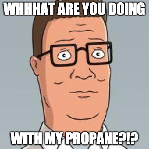 propane hash oil meme