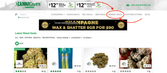 what dispensary has the best deals
