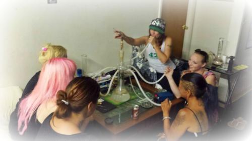 #420Nurse 5 Person Hookah