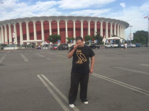 Paramore Concert with Drake/Weeknd T-Shirt @t The Forum