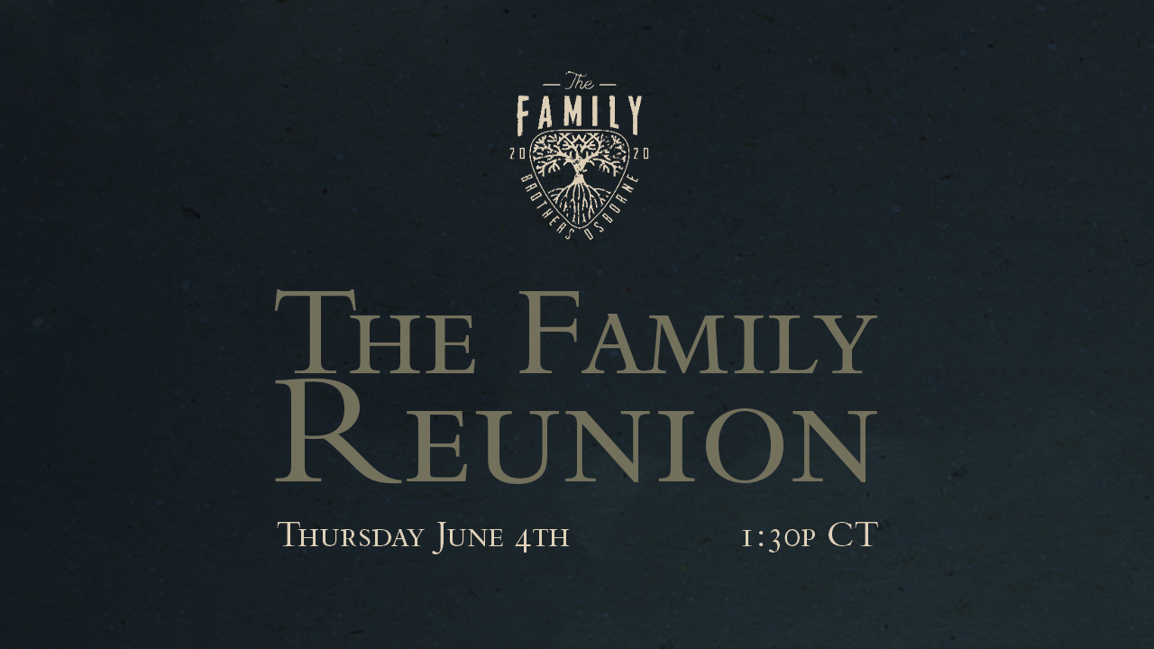 The 2020 Family Reunion (WATCH HERE)