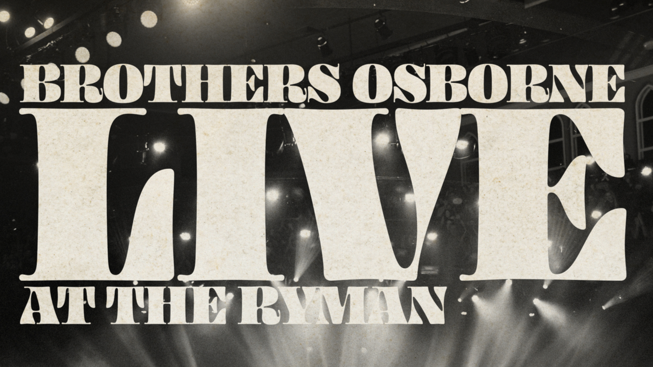 Live At The Ryman - OUT NOW!