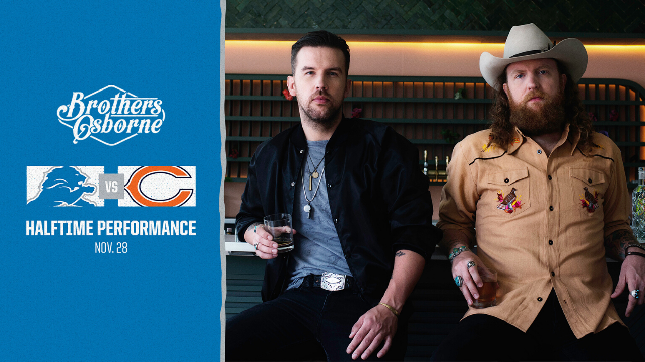 Brothers Osborne Thanksgiving Day Halftime Performance - Enter To Win!
