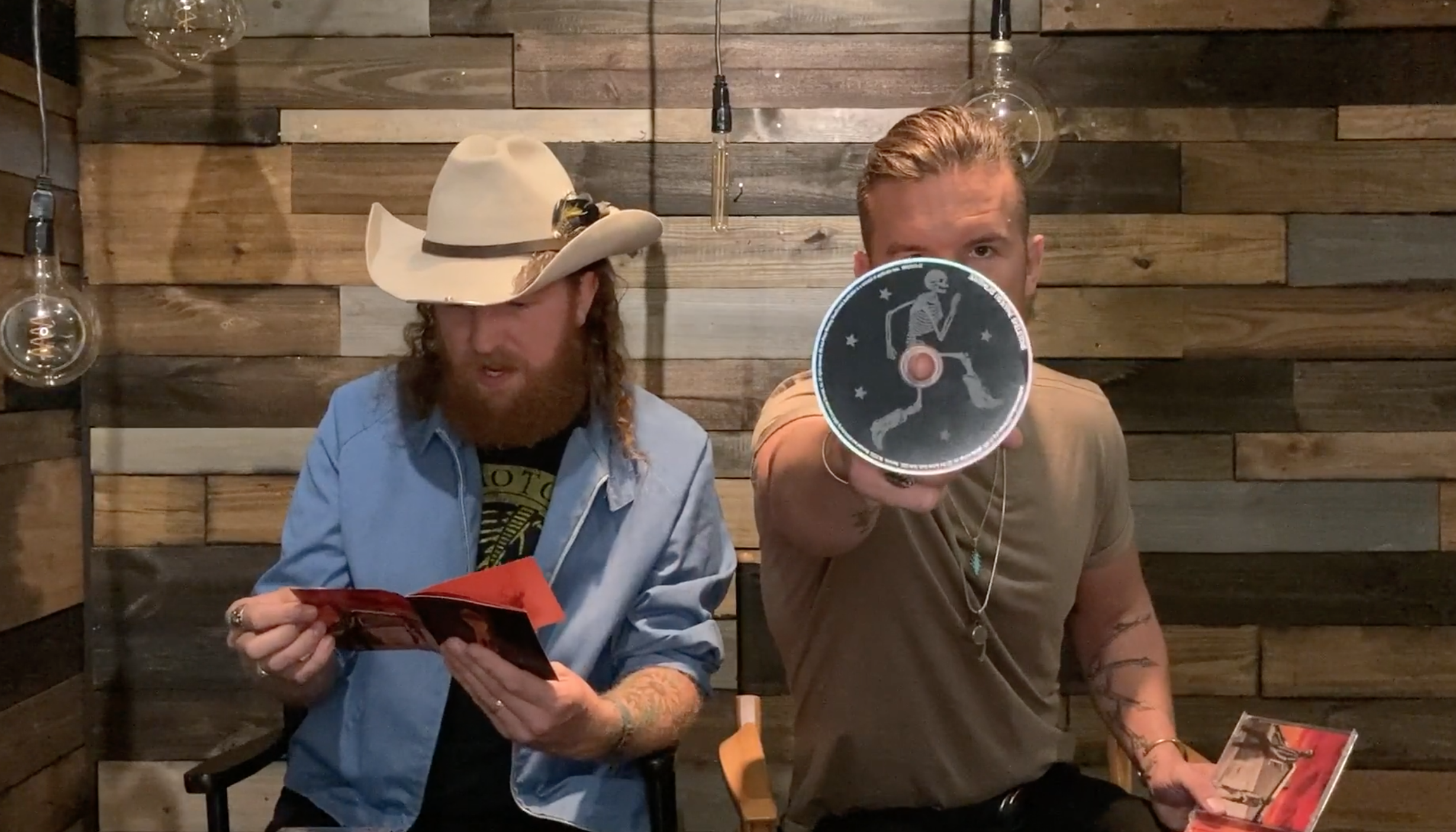 Brothers Osborne Unwrapping Video (Skeletons CD)