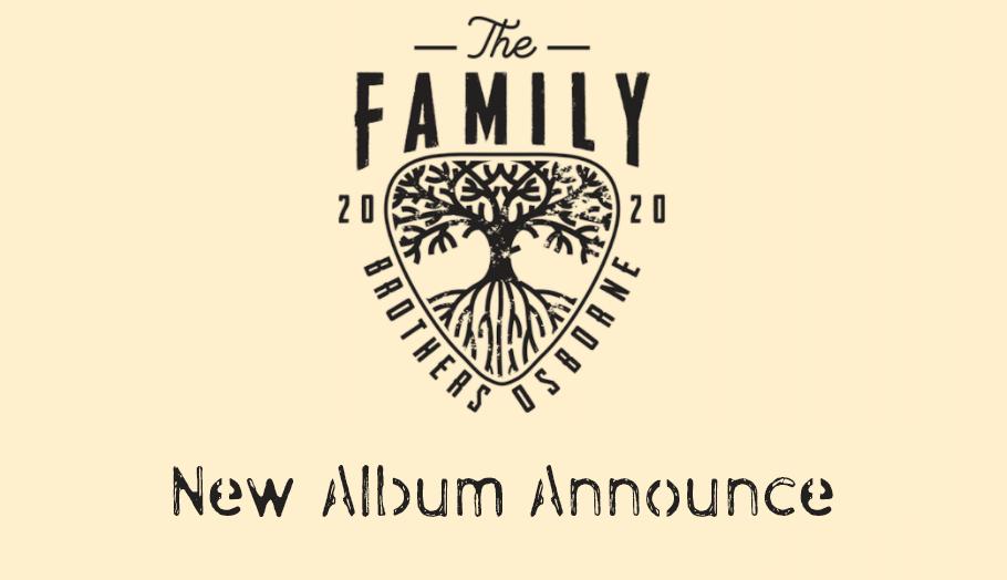Family First: Brothers Osborne Announce Third Studio Album